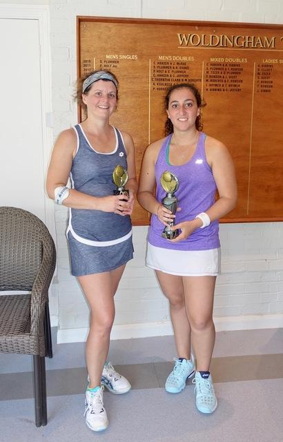 Ladies Singles Finalists