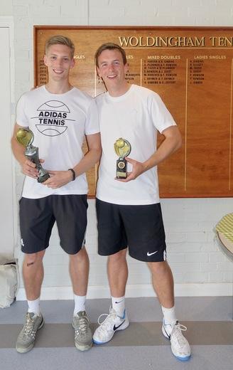 Mens Doubles Winners