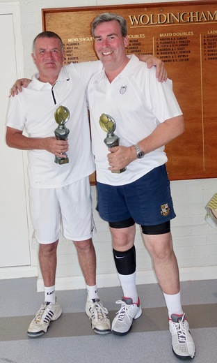 Vets Doubles Winners