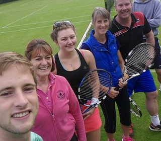 1st Team at Keswick: Dougal, Rachel, Anna, Julie, Rob M, Rob S