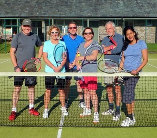 2nd Team at Lorton: Ian, Ali, Tony, Sally, Pete, Janaki
