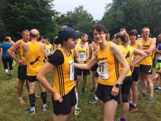 Pre race chats - Mirella Genziani & Helen Davies
