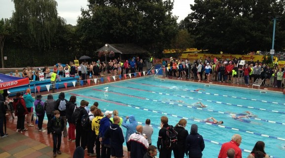 Hampton Pool Triathlon 2016