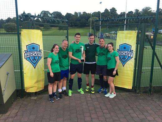 F.A,L Furies - Champions Trophy winners