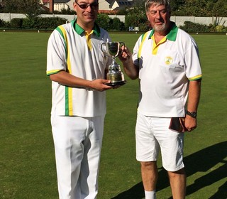 Men's Pairs: Clive Shipway and Ken Cole