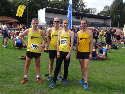 Post race team photo