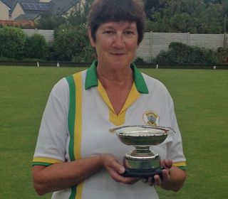 Ladies Champion Dawn Harrison