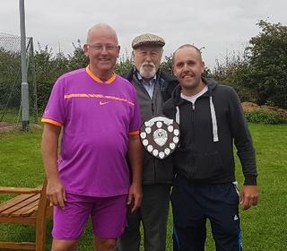 Mark & Andy - Men's Doubles Winners 2017