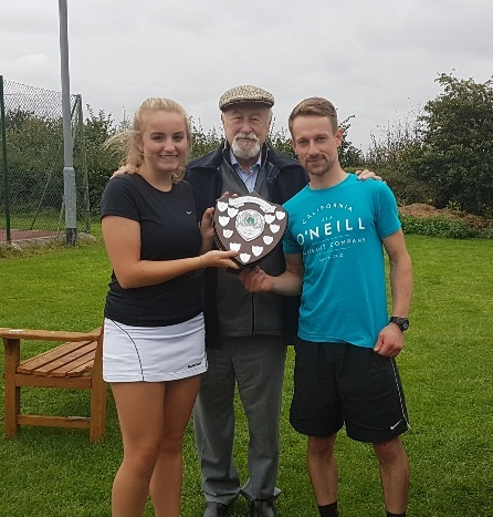 Leticia & Josh - Mixed Doubles Winners 2017