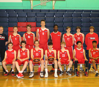 Sussex Bears U16 Boys National League team 2016-17