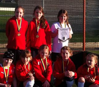 U10 Shropshire winners 2011/2012