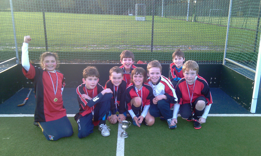 Nov 2010 - U12 Winners at Kilgraston