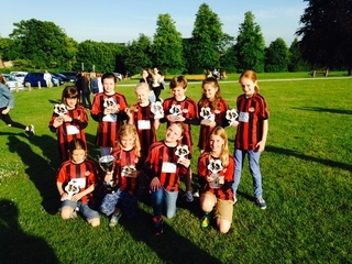 Winchester City Flyers U10's - League and Cup winners