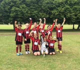 Winchester City Flyers U11's - Winners of Romsey Town FC 6-aside tournament