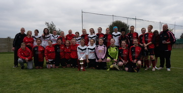 Winchester Ladies First's and Reserves Cup Finalists