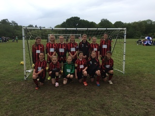 Winchester City Flyers Un12's - Runners Up St Francis 6-aside 2016