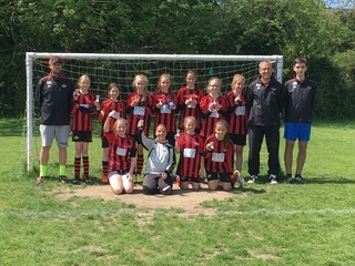 Winchester City Flyers Un12's - Runners Up WDGFL Cup Final 2016