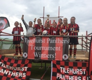 Winchester City Flyers U12's - Winners of Tilehurst Tournament