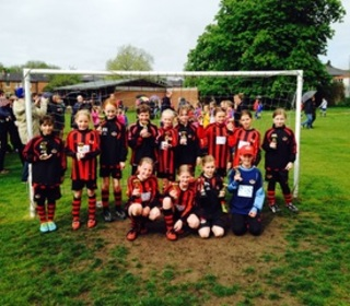 Winchester City Flyers Un11's - WGDFL League Winners