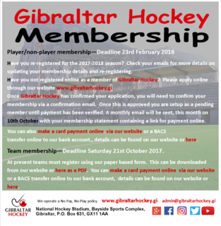 Membership/Registration Flyer