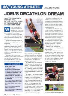 Athletics Weekly - Joel