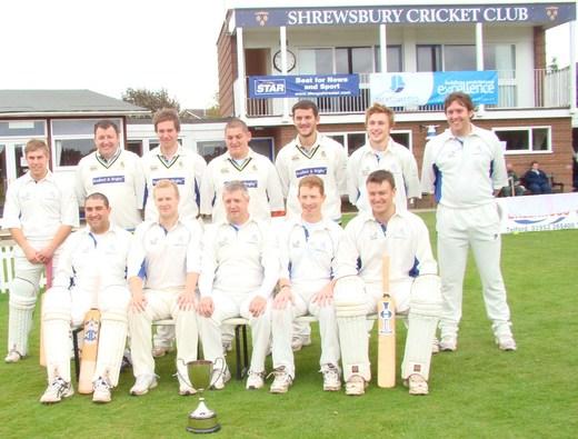 2009 1st XI - Shropshire Village Cup Winners