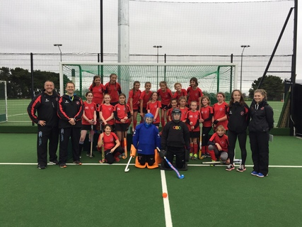 PMHC U12 Girls Devon festival 19 November 2017