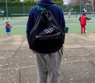 New club Rack Sack available from the club shop