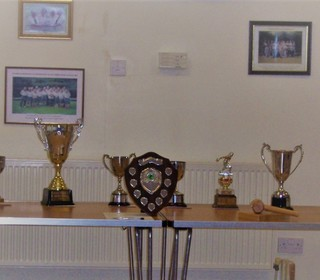 Trophies all in place