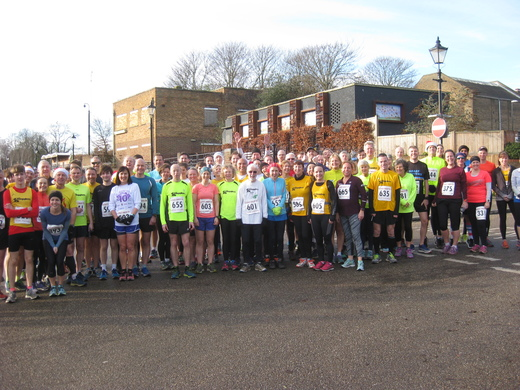 Before thew start of Boxing Day's Cabbage Patch 4