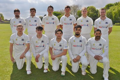 PTCC saturday 1st XI for 2017, Paul McMahon, third-left on back row