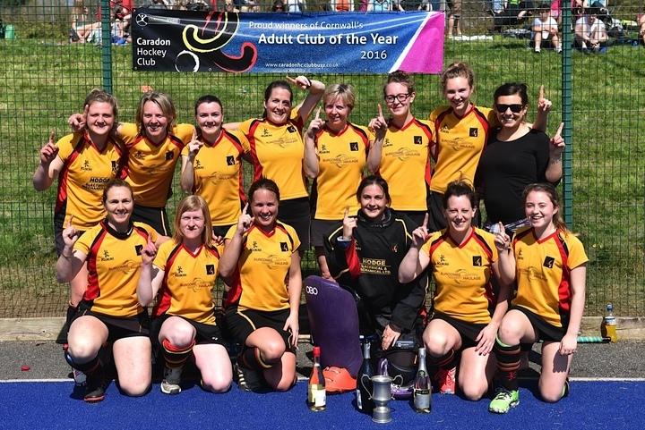 Caradon Ladies 1st XI - cup winners