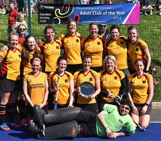 Caradon Ladies 2nd XI - Plate winners