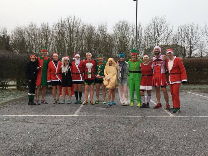 2017 Xmas fancy dress Aquathon
