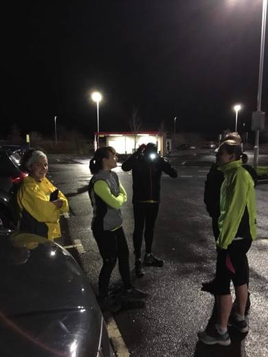 Wednesday night run - Jan 2018