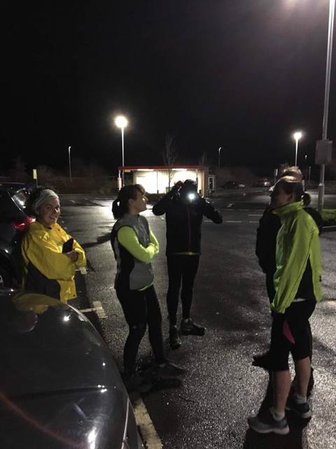 Wednesday night run - Jan 2018
