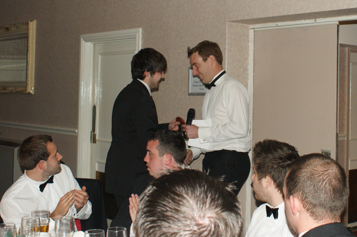 Andy Partridge - 1st XI Players Player Award