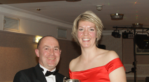 Charlotte Lea - Clubmember of the year 2011/12