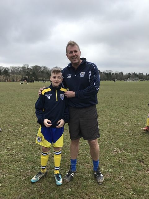 U14 Panthers man of the match against Stoneham Royals
