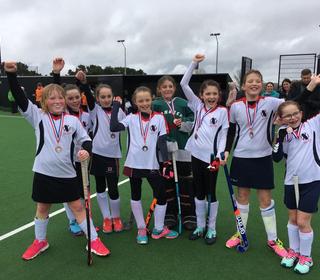 Under 12 Girls - 11 March 2018 - Devon Championship - Third place medal winners!