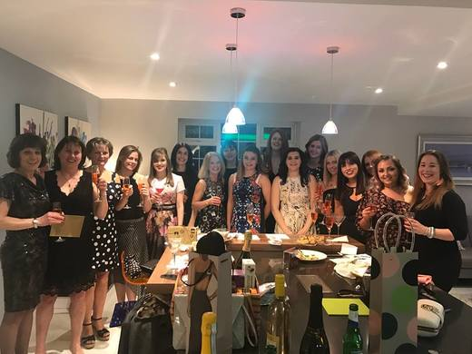 Ladie Pre-Dinner Dance Prinks March 2018