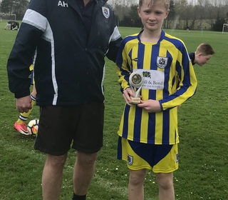 U14 Panthers man of the match against Hythe Dibden