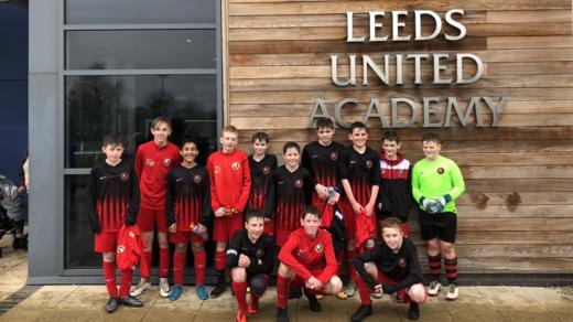 U13s Millennium Cup Semi Final Winners 2018