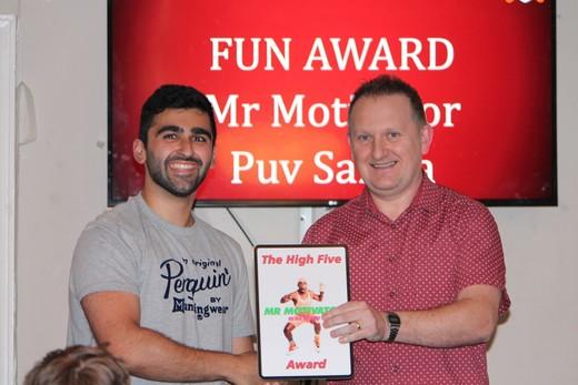 Joke Award - Mr Motivator - Puv Samra