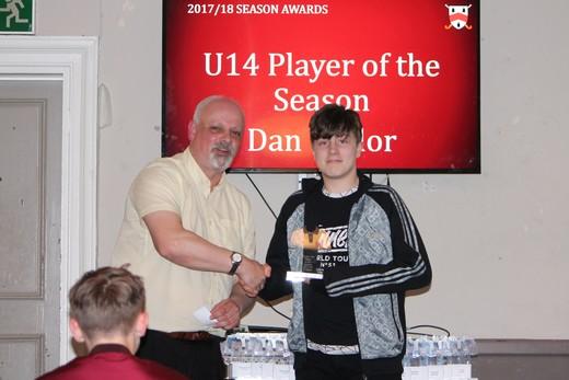 U14 Player of Season - Dan Taylor