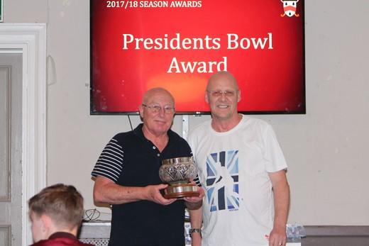 Presidents Bowl Award – Richard Cartwright