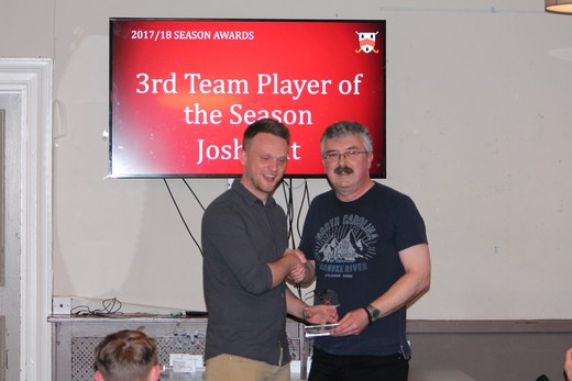 3rd Team Player of the Season - Josh Lait