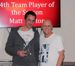4th Team Player of the Season - Matt Horton