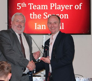 5th Team Player of season - Ian Wall