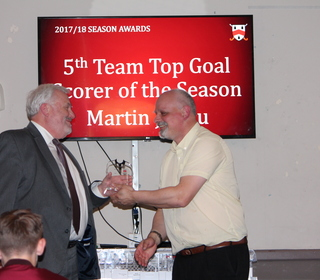 5th Team Top Scorer - Martin Jandu